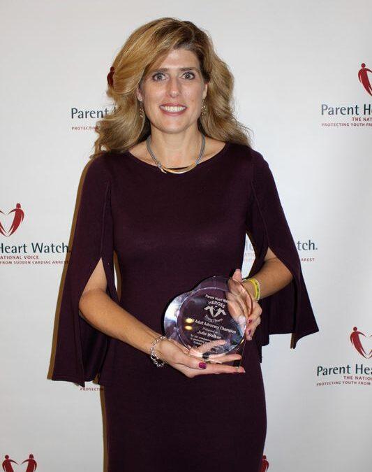Receives National Award For Lifesaving Efforts