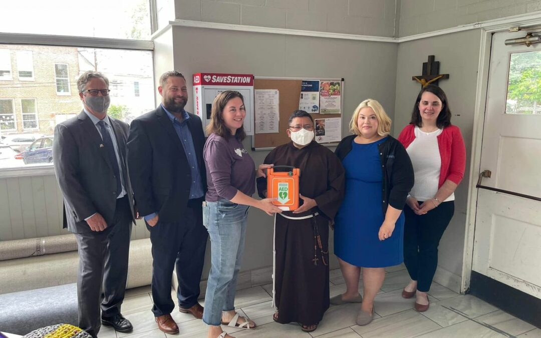 Francis Assisi church in Harrisburg AED Grant